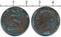 Изображение Монеты Великобритания 1 фартинг 1857 Медь VF