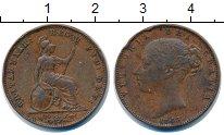 Изображение Монеты Великобритания 1 фартинг 1848 Медь XF