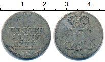 Изображение Монеты Германия Гессен 2 альбуса 1777 Серебро