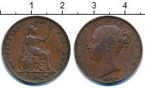 Изображение Монеты Великобритания 1 фартинг 1840 Медь XF