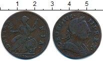 Изображение Монеты Великобритания 1/2 пенни 1775 Медь VF