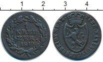 Изображение Монеты Нассау 1 крейцер 1810 Медь VF