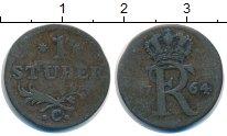 Изображение Монеты Германия Клеве 1 стюбер 1764 Медь