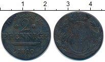 Изображение Монеты Германия Саксен-Кобург-Саалфелд 2 пфеннига 1810 Медь