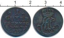 Изображение Монеты Брауншвайг-Люнебург-Каленберг-Ганновер 1 пфенниг 1753 Медь VF