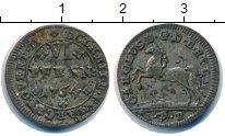 Изображение Монеты Брауншвайг-Люнебург-Каленберг-Ганновер 6 пфеннигов 1764 Серебро VF