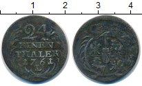 Изображение Монеты Польша 1/24 талера 1761 Серебро