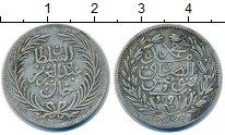 Изображение Монеты Тунис 1 пиастр 1291 Серебро VF
