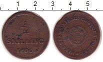 Изображение Монеты Швеция 1/2 скиллинга 1800 Медь VF