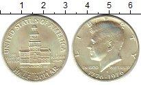 Изображение Монеты США 1/2 доллара 1976 Серебро UNC- 200 - летие  независ