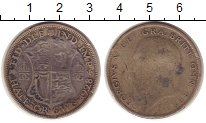 Изображение Монеты Великобритания 1/2 кроны 1928 Серебро VF