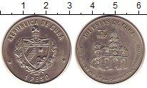 Монета Куба 1 песо Медно-никель 1987 UNC- фото