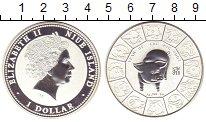 Изображение Монеты Новая Зеландия Ниуэ 1 доллар 2007 Серебро Proof-