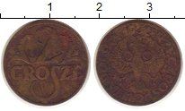 Изображение Монеты Польша 2 гроша 1936 Бронза VF