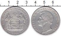 Изображение Монеты Саксония 1 талер 1869 Серебро XF-