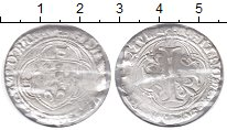 Изображение Монеты Франция 1 бланк 0 Серебро VF Карл VII