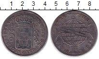 Изображение Монеты Бразилия 960 рейс 1816 Серебро XF- Португальская колони