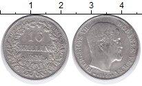 Изображение Монеты Дания 16 скиллингов 1856 Серебро VF Фредерик VII