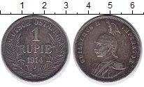 Изображение Монеты Немецкая Африка 1 рупия 1914 Серебро VF