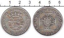 Изображение Монеты Сан-Томе и Принсипи 10 эскудо 1939 Серебро VF