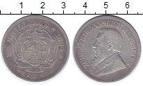 Изображение Монеты ЮАР 2 1/2 шиллинга 1895 Серебро VF