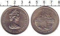 Изображение Монеты Остров Джерси 25 пенсов 1977 Медно-никель UNC