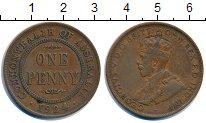 Изображение Монеты Австралия 1 пенни 1924 Бронза XF