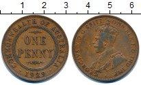 Изображение Монеты Австралия 1 пенни 1929 Бронза XF Георг V