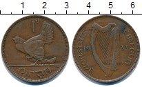 Изображение Монеты Ирландия 1 пенни 1933 Бронза XF