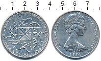 Изображение Монеты Новая Зеландия 1 доллар 1974 Медно-никель UNC-