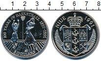 Изображение Монеты Ниуэ 5 долларов 1991 Медно-никель UNC- 100 лет Баскетболу