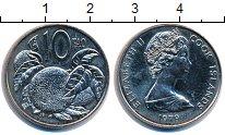 Изображение Монеты Острова Кука 10 центов 1979 Медно-никель UNC-