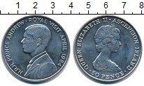 Изображение Монеты Остров Святой Елены 50 пенсов 1984 Медно-никель UNC-