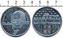 Изображение Монеты Люксембург 5 экю 1983 Медно-никель UNC-
