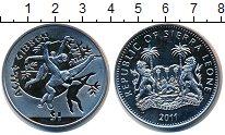 Изображение Монеты Сьерра-Леоне 1 доллар 2011 Медно-никель UNC