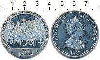 Изображение Монеты Новая Зеландия Острова Кука 1 доллар 2007 Медно-никель UNC