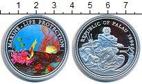 Изображение Монеты Палау 5 долларов 1994 Серебро Proof Цифровая  печать.  З