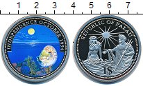 Изображение Монеты Палау 1 доллар 1994 Медно-никель Proof