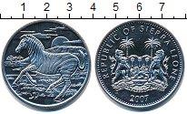 Изображение Монеты Сьерра-Леоне 1 доллар 2007 Медно-никель UNC