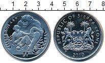 Изображение Монеты Сьерра-Леоне 1 доллар 2010 Медно-никель UNC