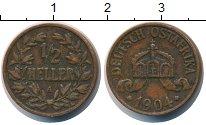 Изображение Монеты Немецкая Африка 1/2 геллера 1904 Бронза XF