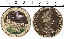 Изображение Монеты Остров Святой Елены 25 пенсов 2013 Латунь UNC