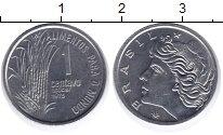 Изображение Монеты Бразилия 1 сентаво 1975 Сталь UNC-