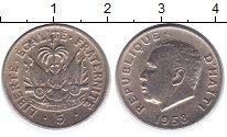 Изображение Монеты Гаити 5 сентим 1958 Медно-никель XF Герб