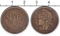 Изображение Монеты Камерун 1 франк 1926 Латунь XF