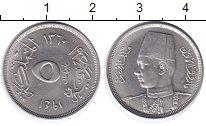 Изображение Монеты Египет 5 мильем 1941 Медно-никель UNC-
