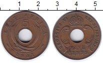 Изображение Монеты Восточная Африка 5 центов 1941 Бронза XF Георг VI.