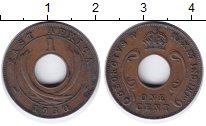 Изображение Монеты Восточная Африка 1 цент 1930 Бронза XF Георг V.