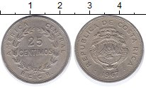 Изображение Монеты Коста-Рика Коста-Рика 1967 Медно-никель XF