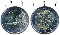 Изображение Мелочь Словакия 2 евро 2017 Биметалл UNC